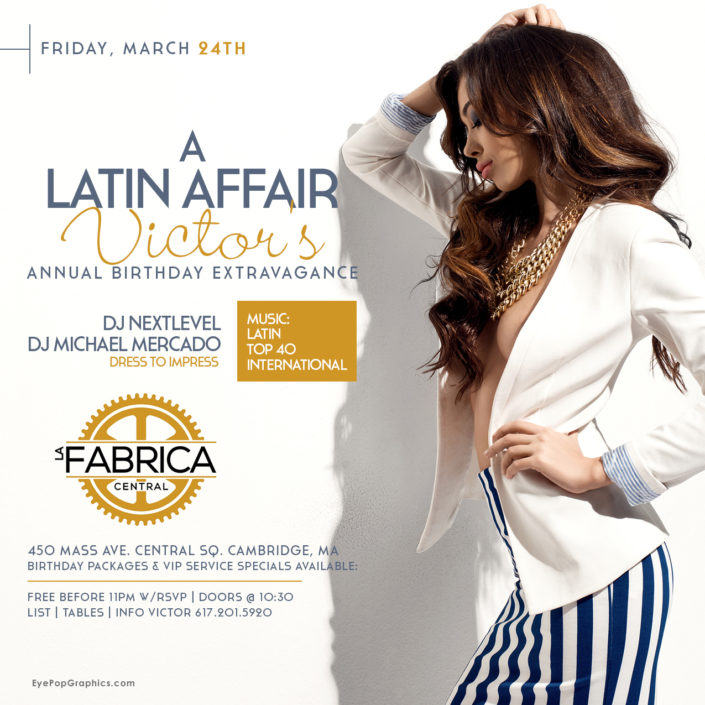 Latin Restaurant Flyer Event Party Flyer