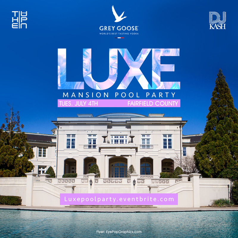 Luxe Mansion Pool Party